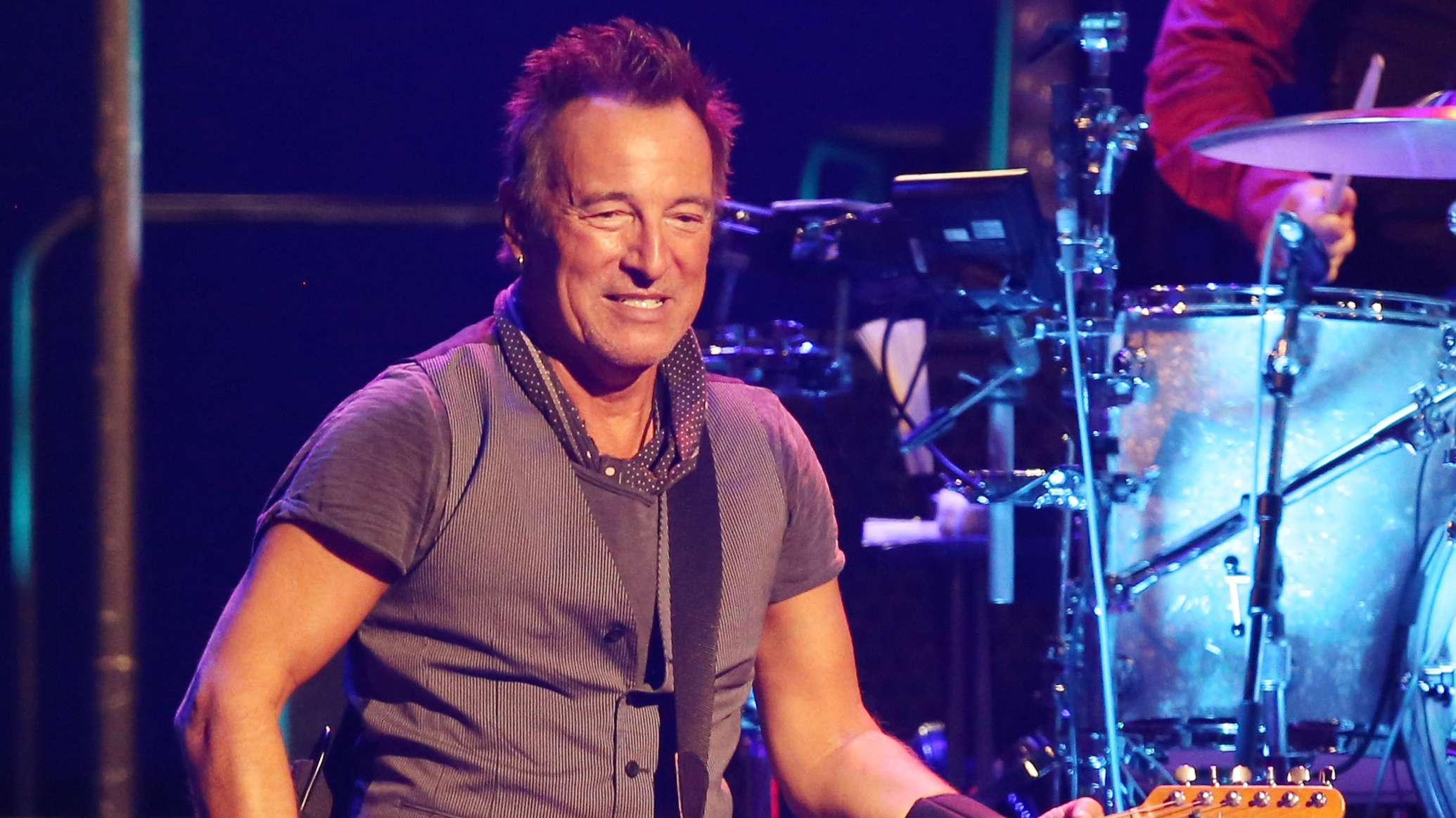 Bruce Springsteen and the E-Street Band concert, Los Angeles Memorial Sports Arena, Los Angeles, America - 17 Mar 2016